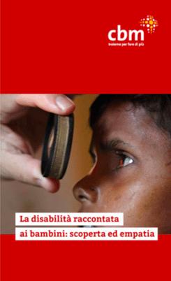 copertina di disabilità raccontata ai bambini