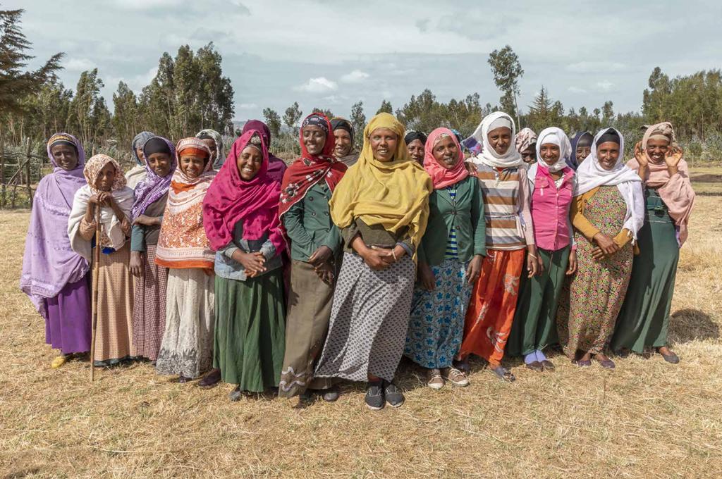 gruppo di donne in Etiopia
